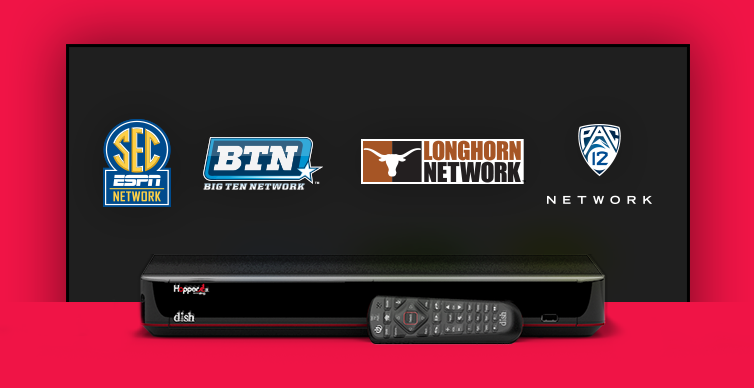 DISH College Sports TV Packages - ST GEORGE, Utah - Digital Dish Satellite Company - DISH Authorized Retailer