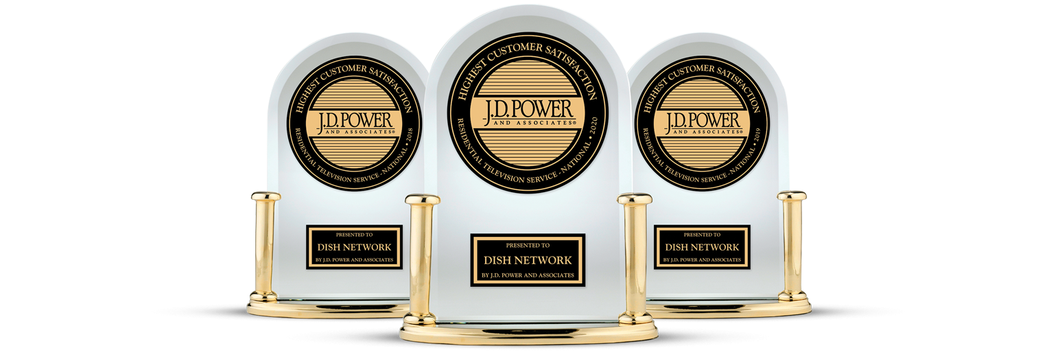 DISH Customer Satisfaction - Ranked #1 by JD Power - Digital Dish Satellite Company in ST GEORGE, Utah - DISH Authorized Retailer